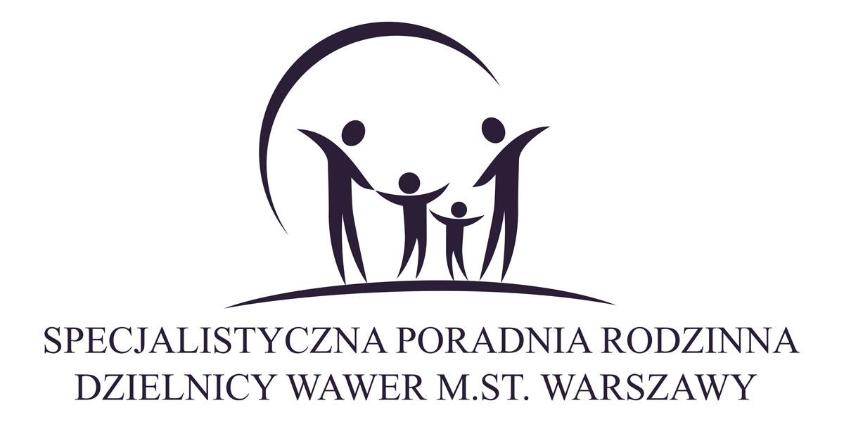 Logo Specjalistyczna Poradnia Rodzinna Dzielnicy Wawer m.st. Warszawy
